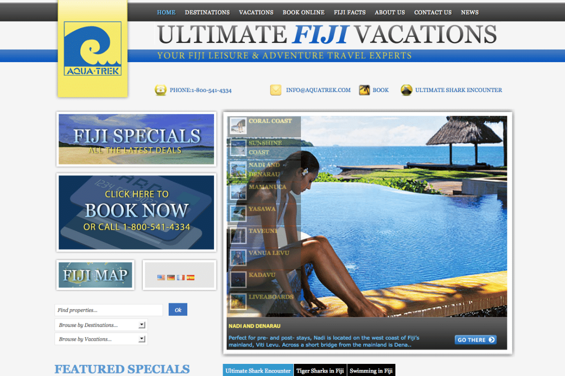 Ultimate Fiji Vacations