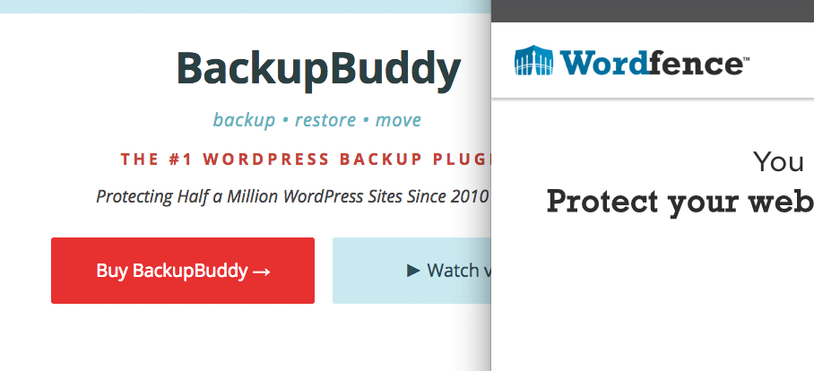 BackupBuddy Wordfence Conflict