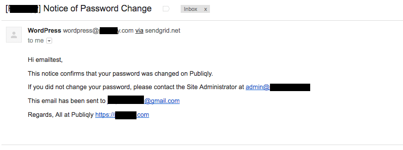 Email send succesfully