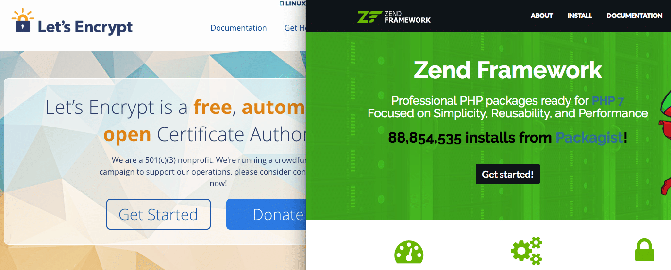 Let's Encrypt and Zend Framework on NGINX