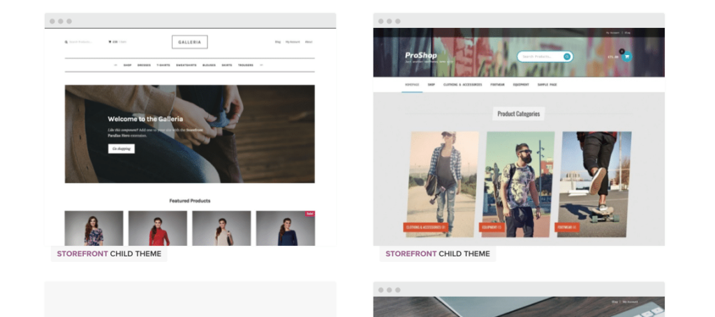 Storefront Child Themes