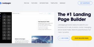 How To Add Leadpages Form To WordPress Menu