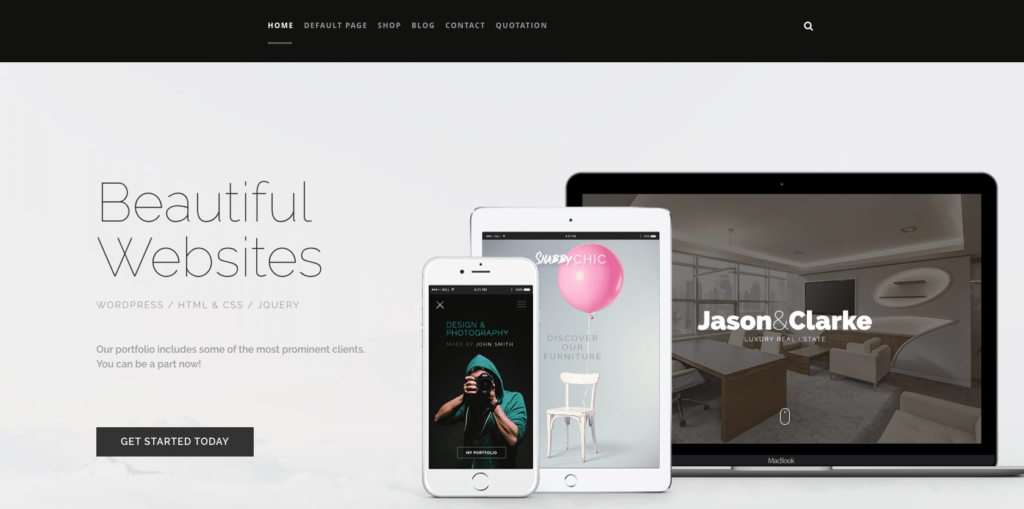 Ianua WordPress Theme