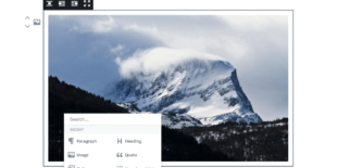 Awesome WordPress Frontend Editor Gutenberg In Progress