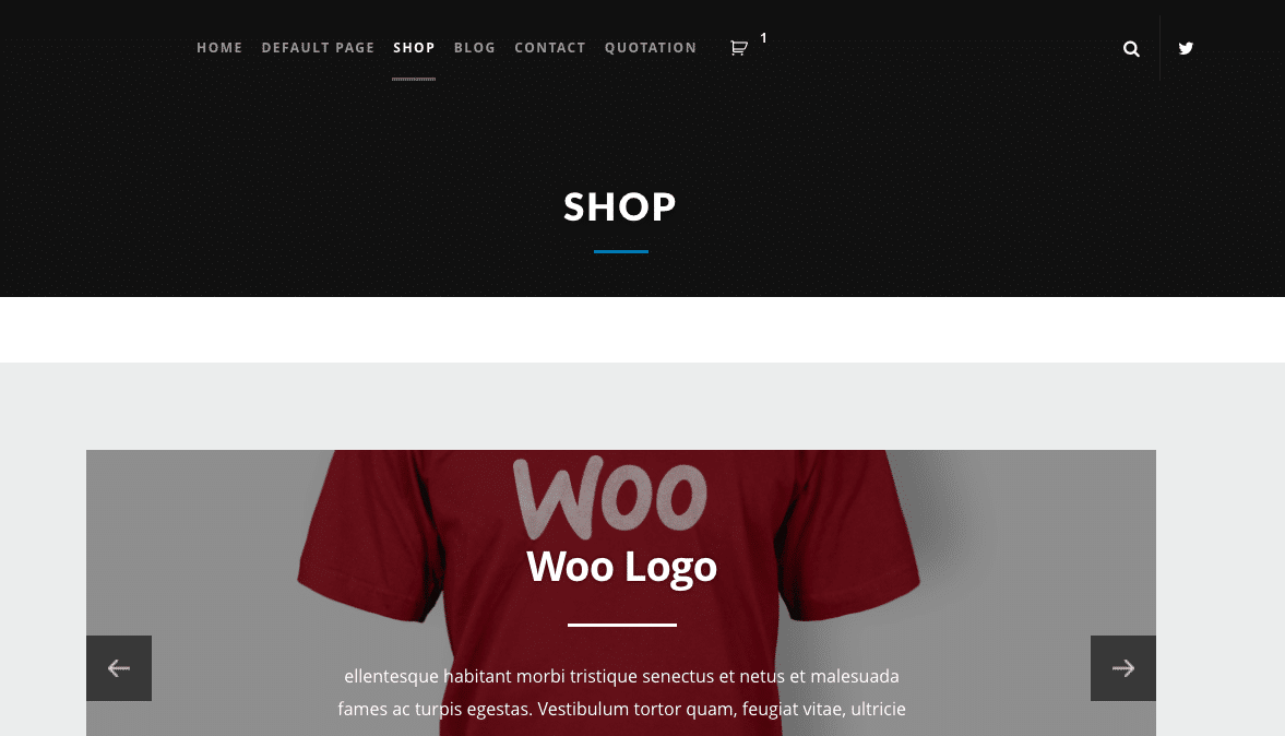 WooCommerce Cart in Theme Header