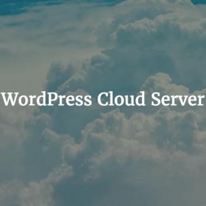 WordPress Cloud Server