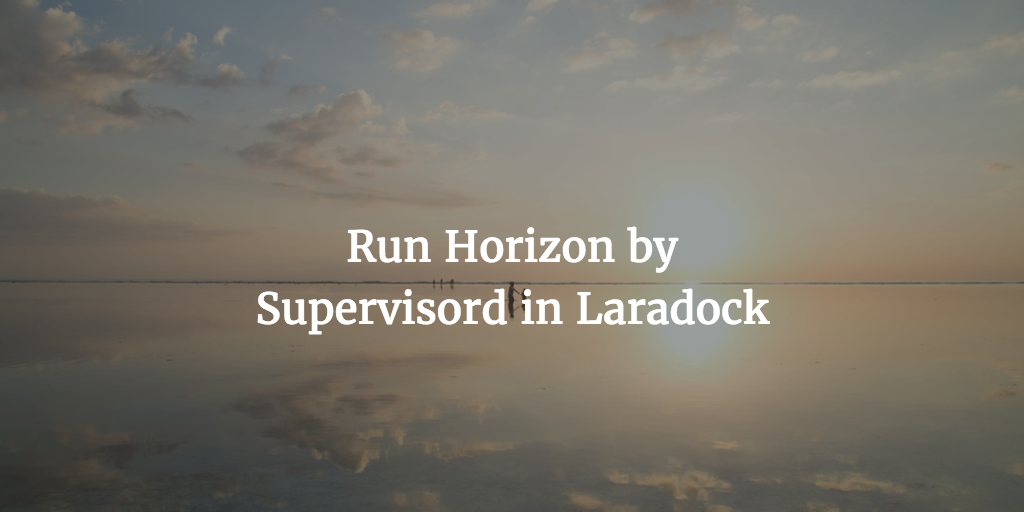 Run Horizon by Supervisord in Laradock | IMWZ – Your Right Hand in
